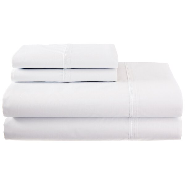 Vista 270 Thread Count 100% Cotton Sheet Set by Calvin Klein